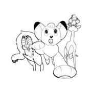 Kimba, il leone bianco da colorare 11