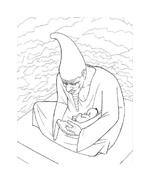 Kirikù e la strega Karabà da colorare 41
