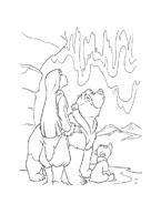 Koda fratello orso da colorare 2