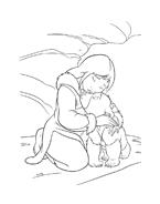 Koda fratello orso da colorare 3