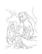 Koda fratello orso da colorare 4