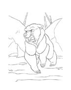 Koda fratello orso da colorare 9