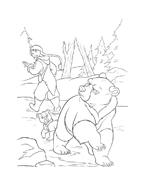 Koda fratello orso da colorare 28