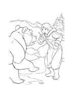 Koda fratello orso da colorare 39