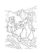 Koda fratello orso da colorare 50
