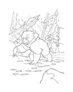 Koda fratello orso da colorare 54