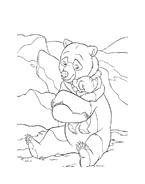 Koda fratello orso da colorare 56
