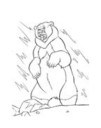 Koda fratello orso da colorare 61