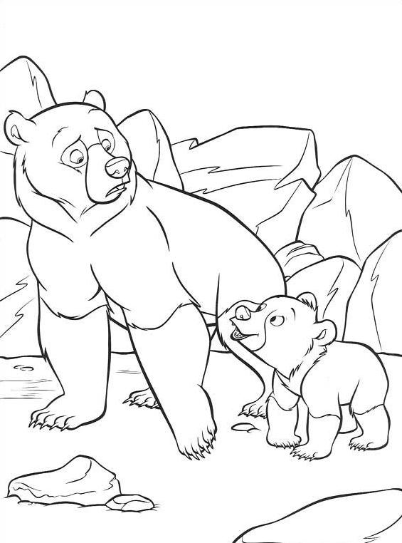 Koda fratello orso da colorare 65