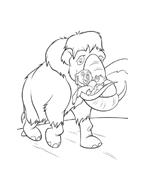 Koda fratello orso da colorare 68