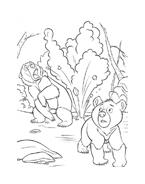 Koda fratello orso da colorare 69