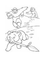 Koda fratello orso da colorare 73