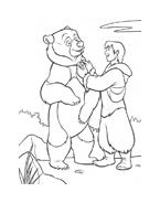 Koda fratello orso da colorare 74
