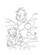 Koda fratello orso da colorare 84