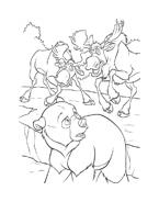 Koda fratello orso da colorare 87