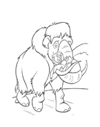 Koda fratello orso da colorare 88