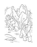 Koda fratello orso da colorare 89