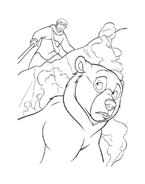 Koda fratello orso da colorare 90