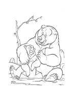 Koda fratello orso da colorare 95