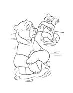 Koda fratello orso da colorare 96