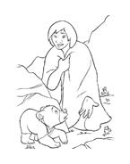 Koda fratello orso da colorare 104