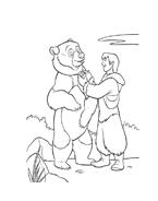Koda fratello orso da colorare 109