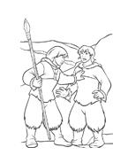Koda fratello orso da colorare 126
