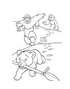 Koda fratello orso da colorare 138
