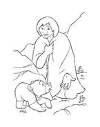 Koda fratello orso da colorare 141