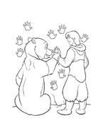 Koda fratello orso da colorare 148