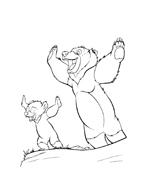 Koda fratello orso da colorare 165