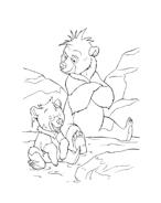 Koda fratello orso da colorare 169