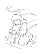 Koda fratello orso da colorare 179