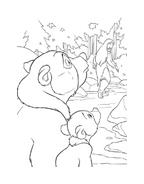 Koda fratello orso da colorare 181