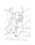 Koda fratello orso da colorare 183