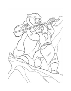 Koda fratello orso da colorare 187