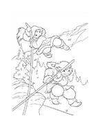 Koda fratello orso da colorare 194