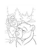 Koda fratello orso da colorare 198