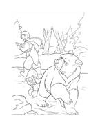 Koda fratello orso da colorare 199