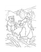 Koda fratello orso da colorare 212