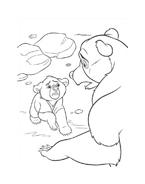 Koda fratello orso da colorare 215