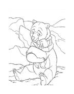 Koda fratello orso da colorare 216