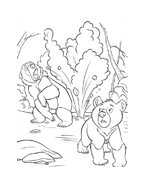 Koda fratello orso da colorare 225