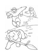 Koda fratello orso da colorare 228
