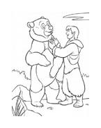 Koda fratello orso da colorare 229