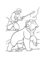 Koda fratello orso da colorare 233
