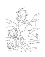 Koda fratello orso da colorare 238