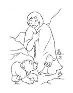 Koda fratello orso da colorare 249