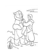 Koda fratello orso da colorare 253