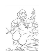 Koda fratello orso da colorare 264